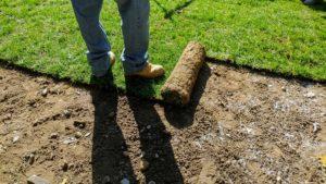 sod installation measurement